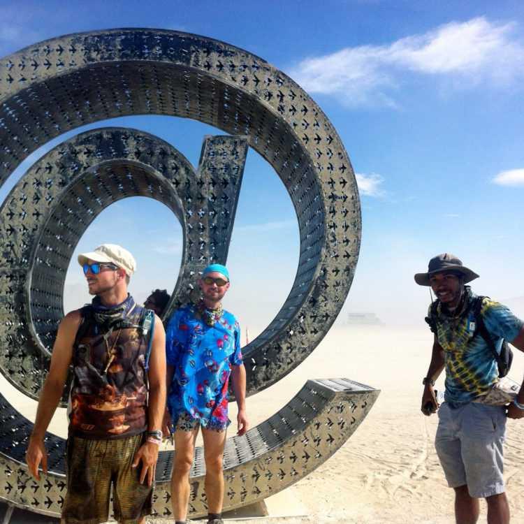 Burning Man Crew @ Display