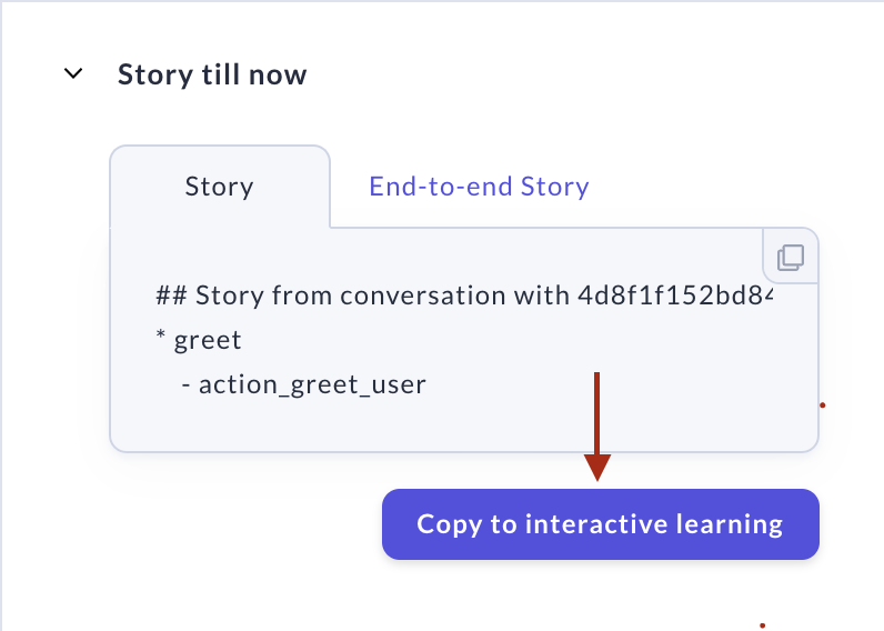 Conversations Screen - Copy to Interactive Learning