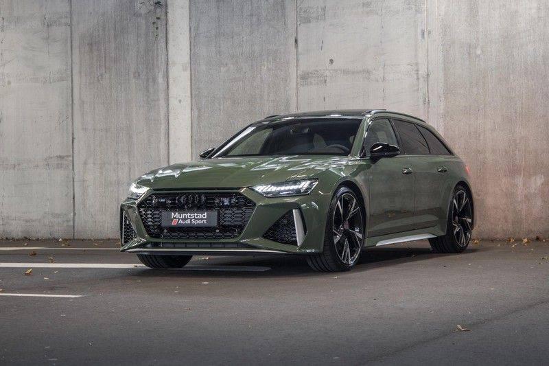 Audi RS6 Avant TFSI 600 pk quattro | 25 jaar RS Package | Dynamic Plus pakket | Keramische Remschijven | Audi Exclusive Lak | Carbon | Pano.dak | Assistentiepakket Tour & City | 360 Camera | 280 km/h afbeelding 4