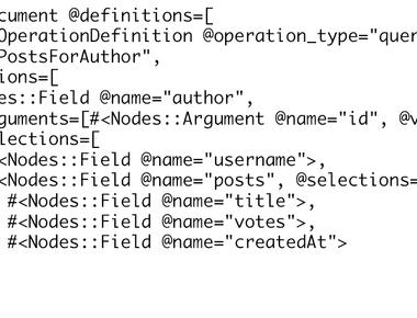 GraphQL query parsing and validation?