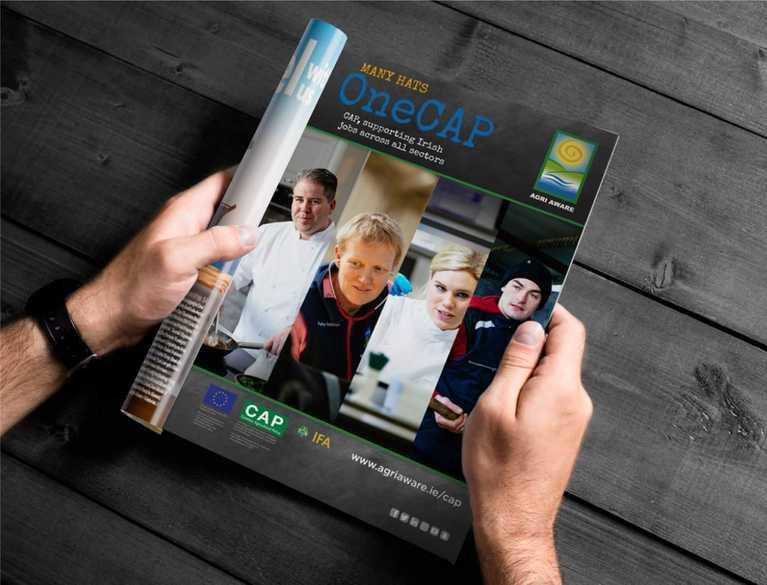 agri aware advertisement in magazine
