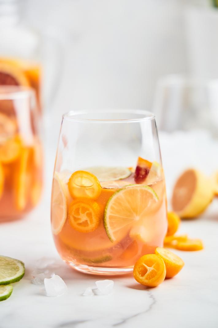 Citrus Rosé Sangria