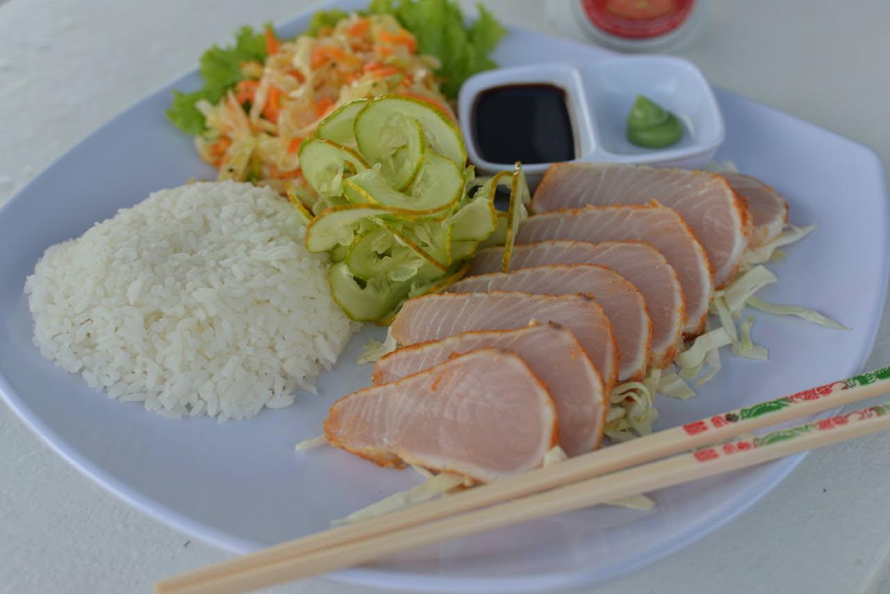 Orca Laut Surf Charter Trip Mentawai Food