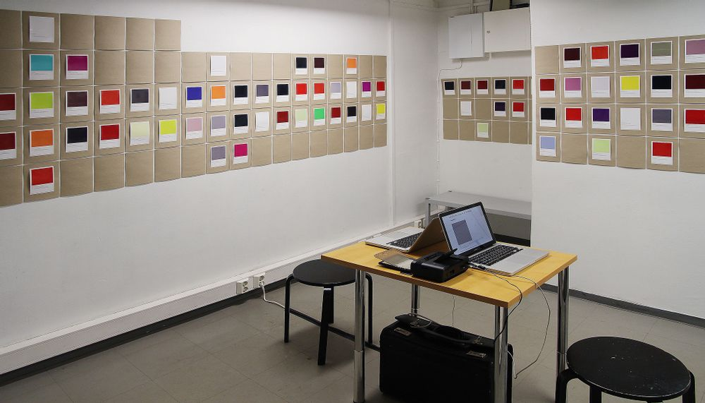 Installation view, Third Space Helsinki, 2016
