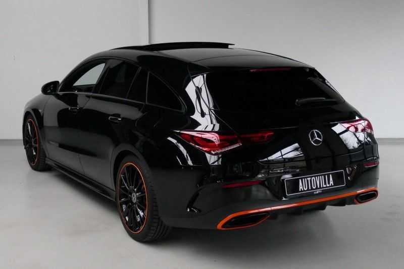 Mercedes-Benz CLA-Klasse Shooting Brake 200 d /// AMG Edition 1 Nightpakket - Sfeer verlichting afbeelding 10