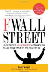 Related book F Wall Street: Joe Ponzio's No-Nonsense Approach to Value Investing for the Rest of Us Cover