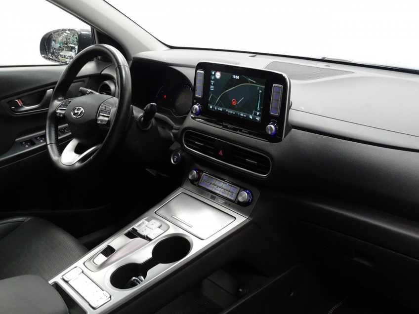 Hyundai Kona EV Premium 64 kWh EX BTW 4% Leder Navigatie Clima Cruise Camera HUD  460 KM op 1 Lading! afbeelding 20