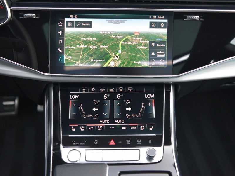 Audi Q8 50TDI 286pk Quattro S-Line Black Optic Lucht RS-zetels B&O High-end Alcant.Hemel TV Head-Up Standk ALLE OPTIES! afbeelding 20