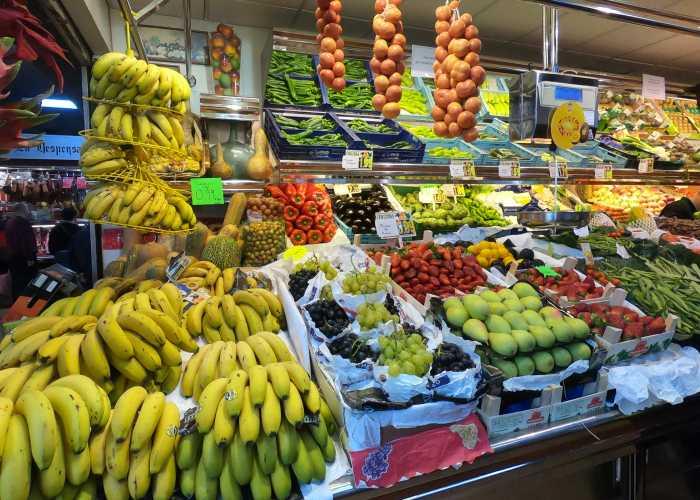 Mercado Pere Gara in Palma de Mallorca, Spain