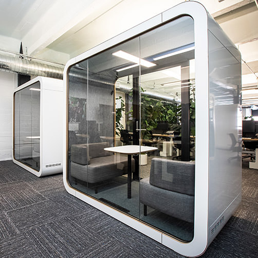 Setting Up Hybrid Work for Success - Changing the Built Environment