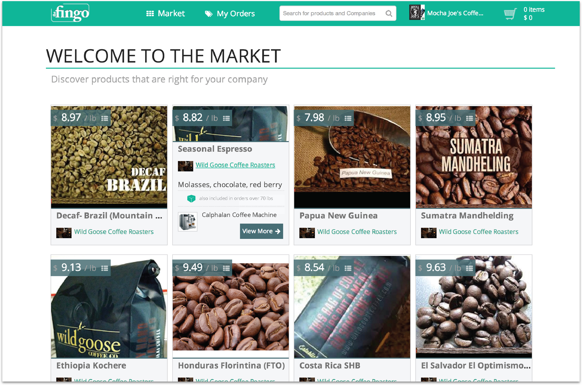 Fingo marketplace new