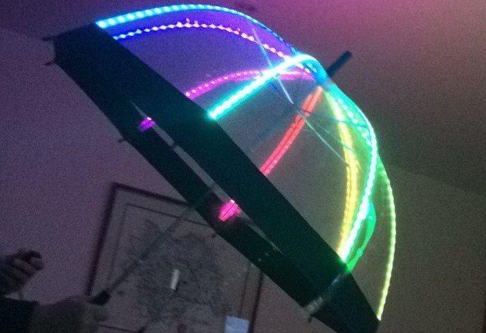 A photo of the umbrella