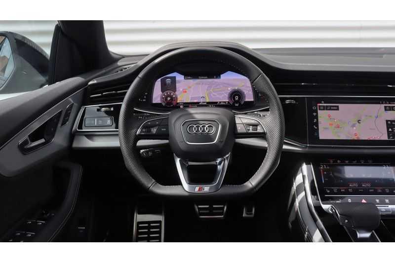 Audi Q8 55 TFSI quattro S-Line, Panoramadak, B&O, Massage, Ruitstiksel, Trekhaak afbeelding 12