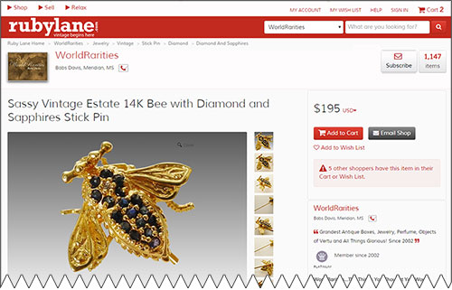 Ecommerce Site Screenshot