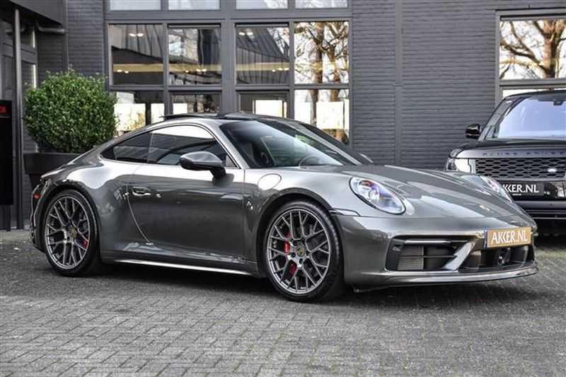 Porsche 911 4S SPORTDESIGN+LIFTSYST.+GLAS DAK+4WSTURING NP.219K afbeelding 25
