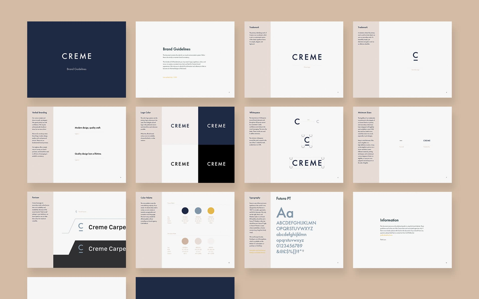 Brand guidelines retail