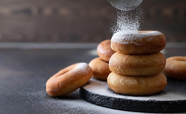 yeast ring donut