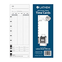 Lathem E17-100