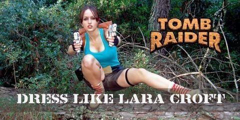 You need these items to cosplay as Lara Croft from Tomb Raider