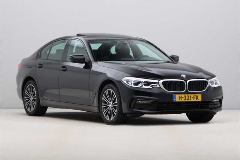 BMW 5 Serie 520i High Exe Sportline Aut. afbeelding 5