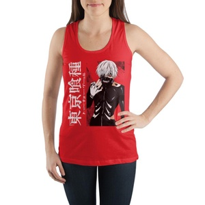 Tokyo Ghoul Anime Juniors Graphic Red Tank Top