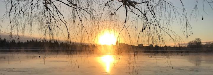 Oulun auringonlasku
