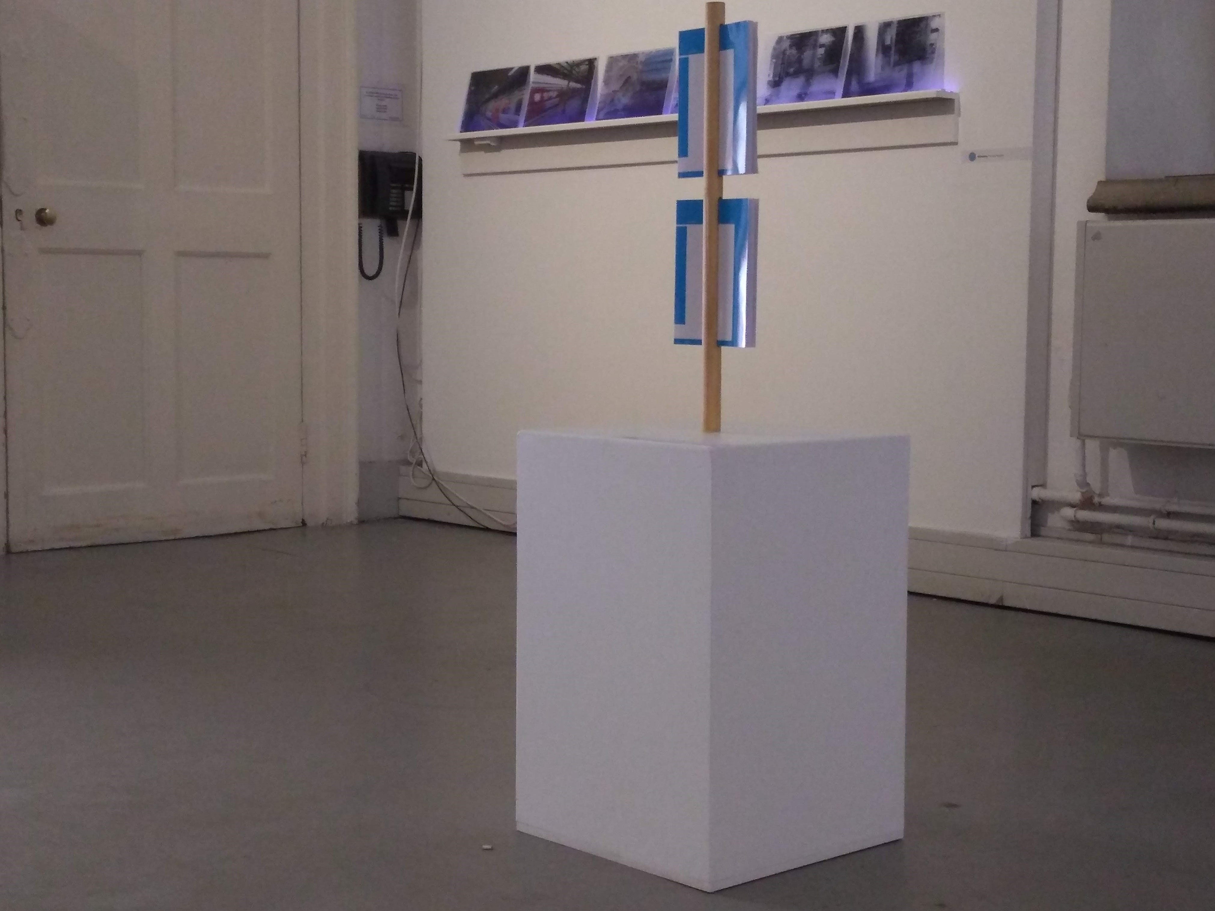 Three Years as installed at the 528 exhibition