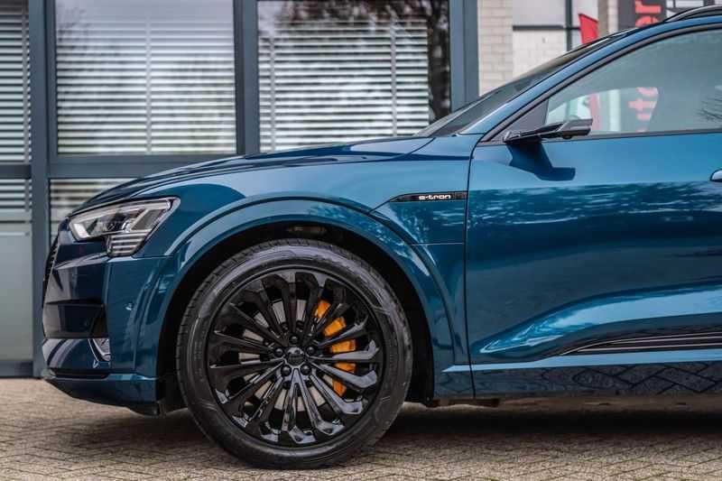 Audi e-tron 55 quattro advanced Pro Line Plus, 408 PK, 4% Bijtelling, Luchtvering, Surround View, Stad/Tour Pakket, B&O, EX. BTW!! afbeelding 13