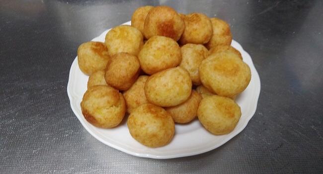 スイートポテトのドーナツ