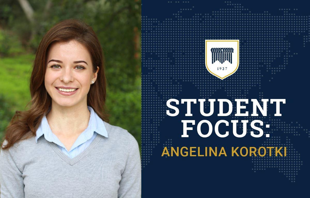 Student Focus: Angelina Korotki image