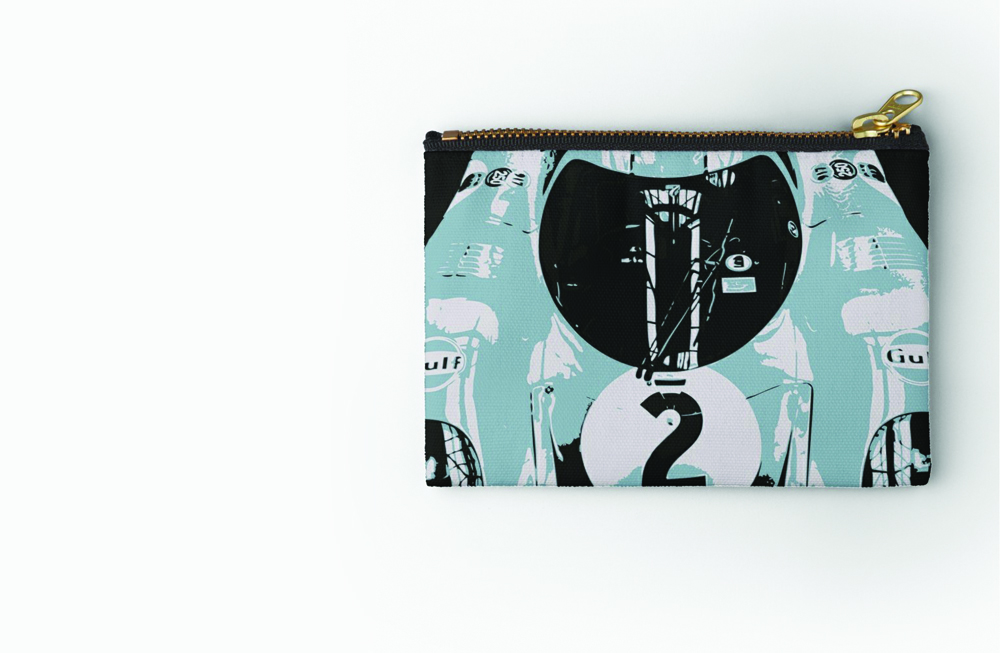 Porsche 917K Zipper Pouch by thespeedart