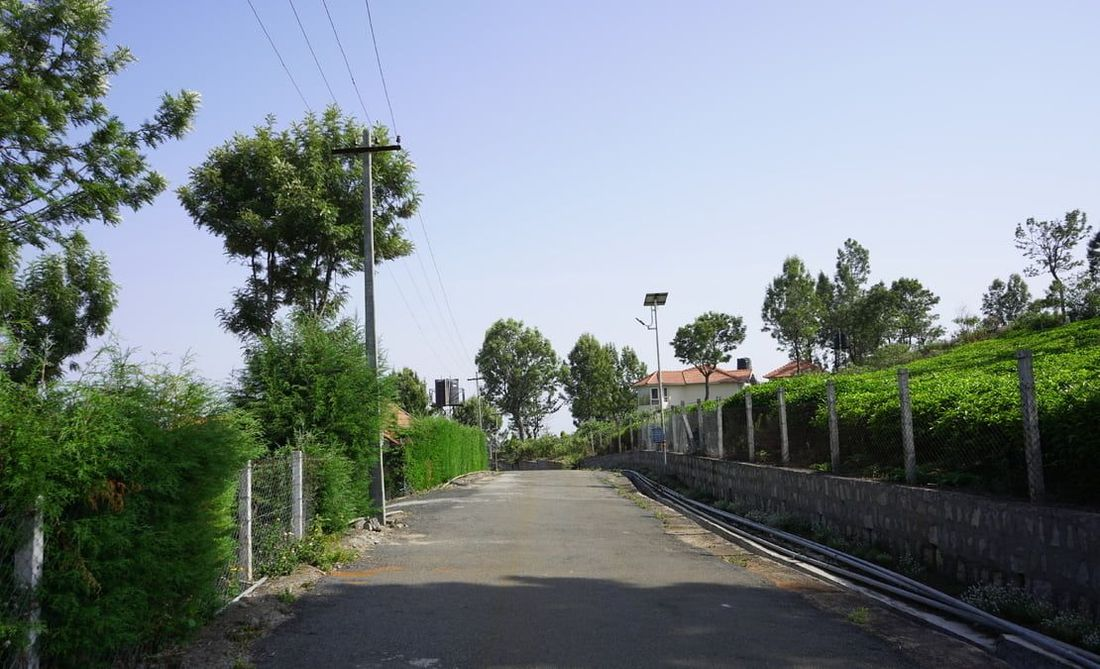 Road and plots at Drumla gated community Phase 1