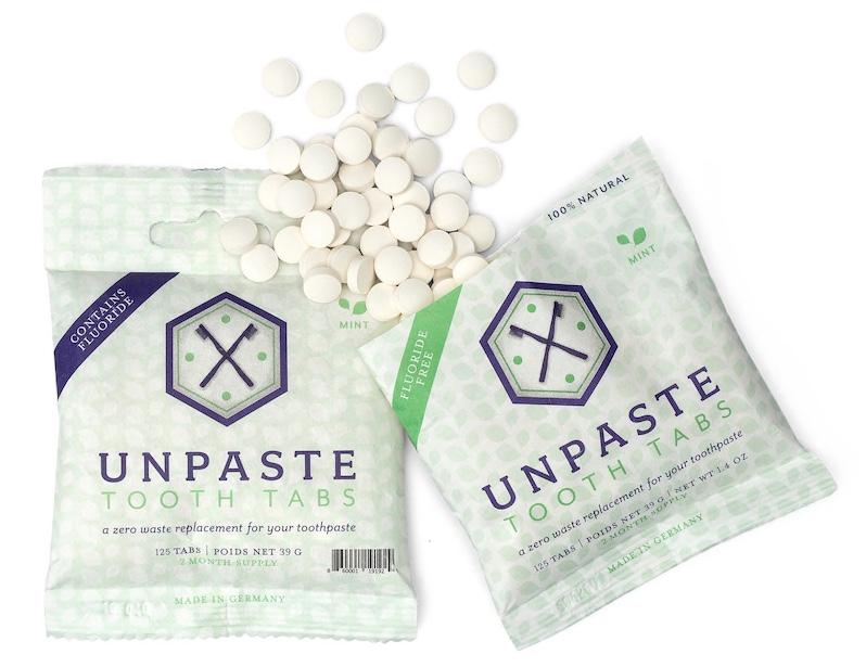 Unpaste packaging