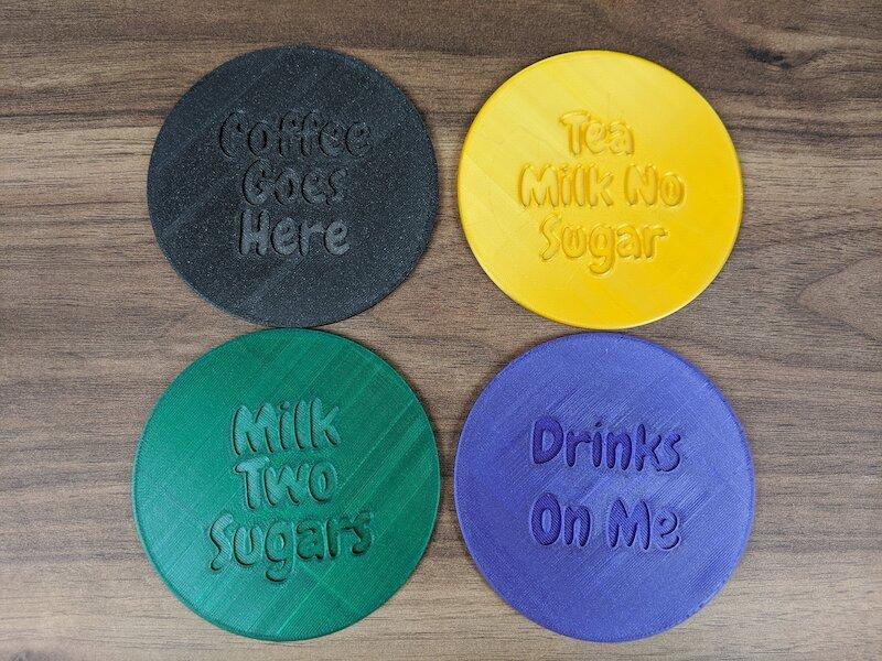 Drinks Order Coaster Gallery 1