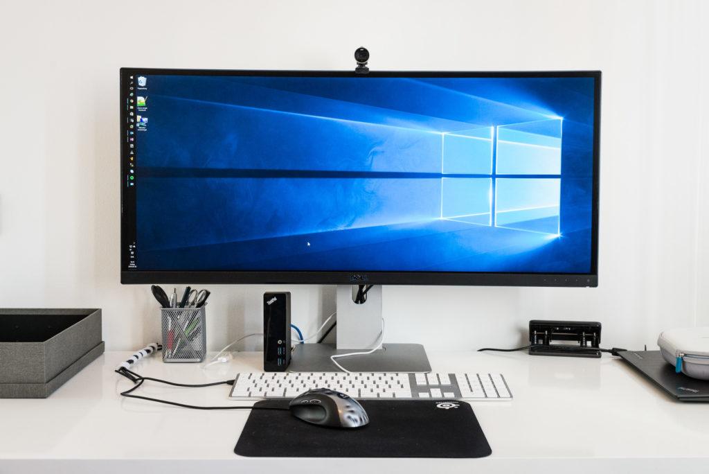Dell U3415W Monitor, 34″ 3440×1440