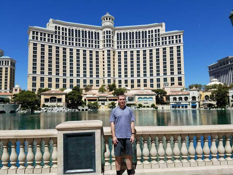Отель-казино в Лас-Вегасе Белладжио