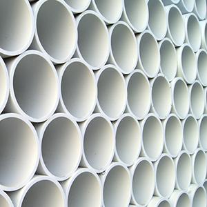Per la sua natura inerte il PVC può essere utilizzato per realizzare tubi per l'acqua potabile