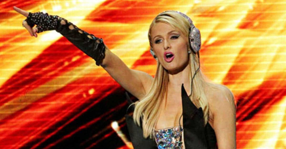 DJ Paris Hilton Female Disk Jockey Yang Melegenda