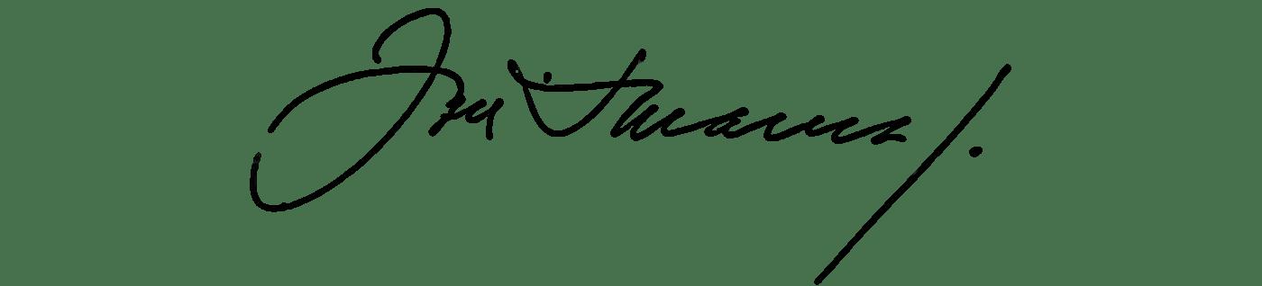 Автограф Жозе Сарамаго. Источник: Национальная библиотека Португалии