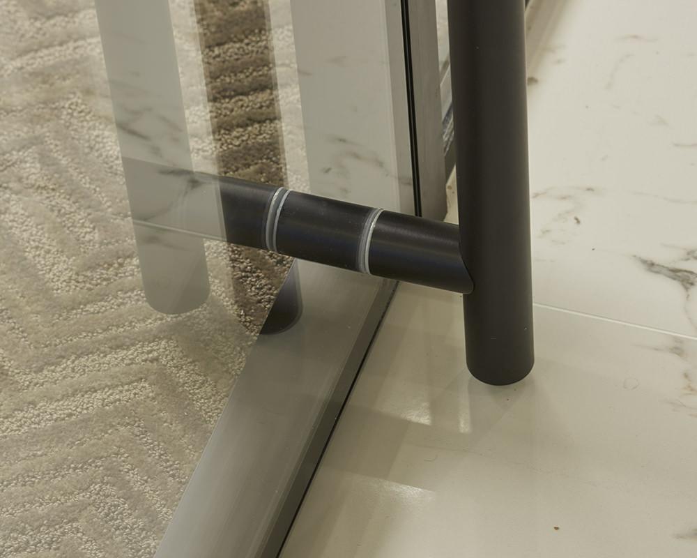 Sliding Door Handle Reaching Tile Floor