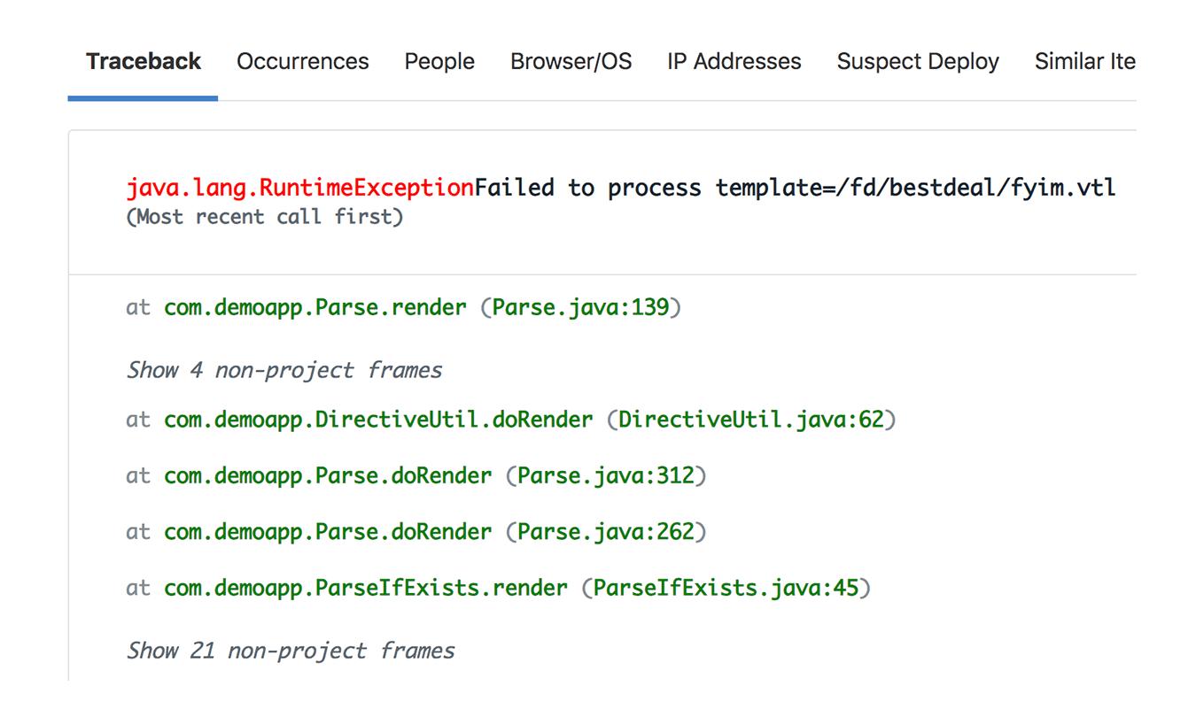 Spring error details & metadata