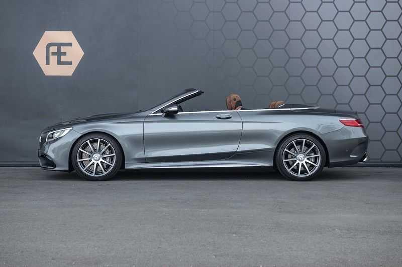 Mercedes-Benz S63 Cabrio 63 AMG 4Matic DISTRONIC + BTW + BURMESTER afbeelding 13