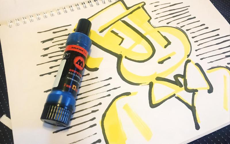 Featured image of post MOLOTOW DRIPSTICK ROLLERBALL 滾珠筆/擠壓流湯效果樣樣來!