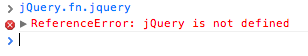 jQuery is missing