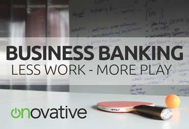 Less Work Business Banking Postcard