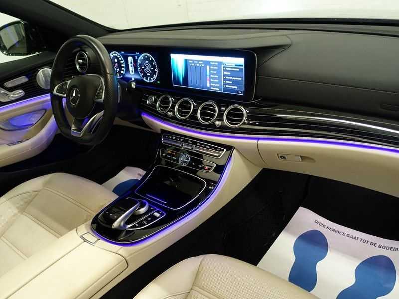 Mercedes-Benz E-Klasse 43 AMG 4Matic Prestige 402pk Aut- Pano, Burmester, Head-up, 360 Camera afbeelding 11