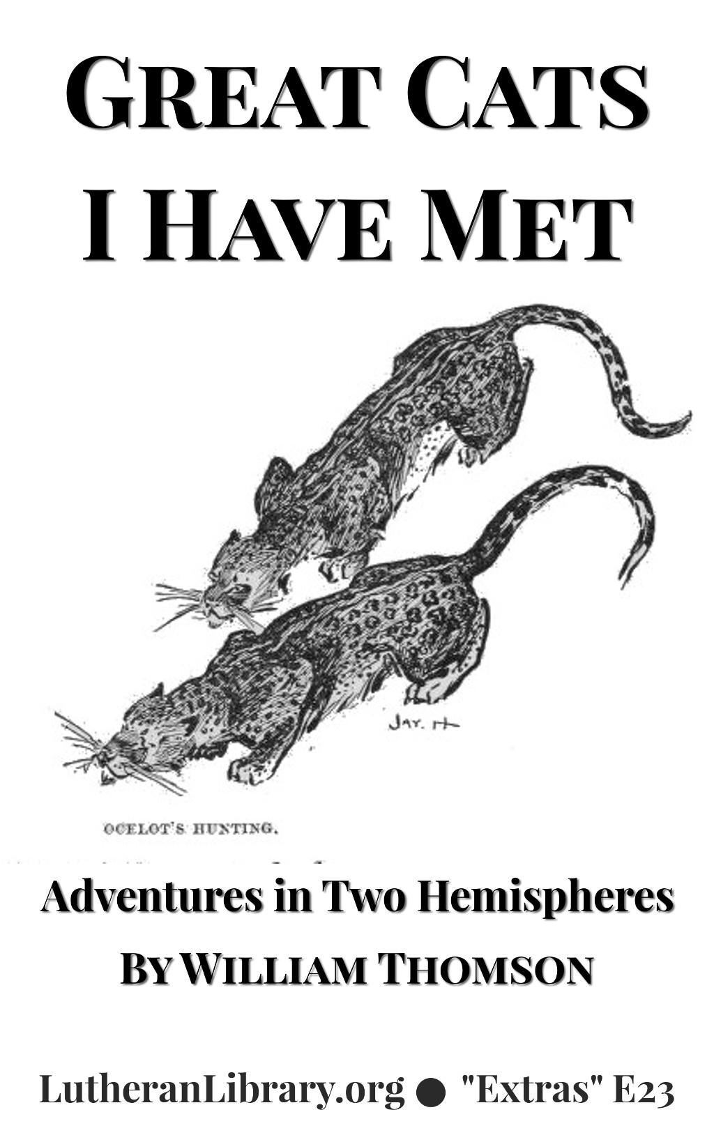 Great Cats I Have Met: Adventures in Two Hemispheres by William Thomson