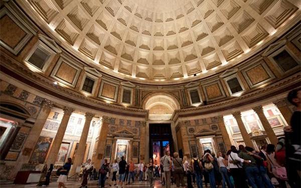 pantheon roman cement