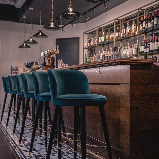 The Ginger Pig bar by Method Furniture Makers
