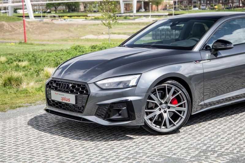 Audi A5 Coupé 45 TFSI quattro S edition Edition One   2 x S-Line   Navigatie   360 Camera  Head-Up Display   Leder/carbon interieur   Matrix LED   S-Sportstoelen   Garantie tot 10-2025* afbeelding 9